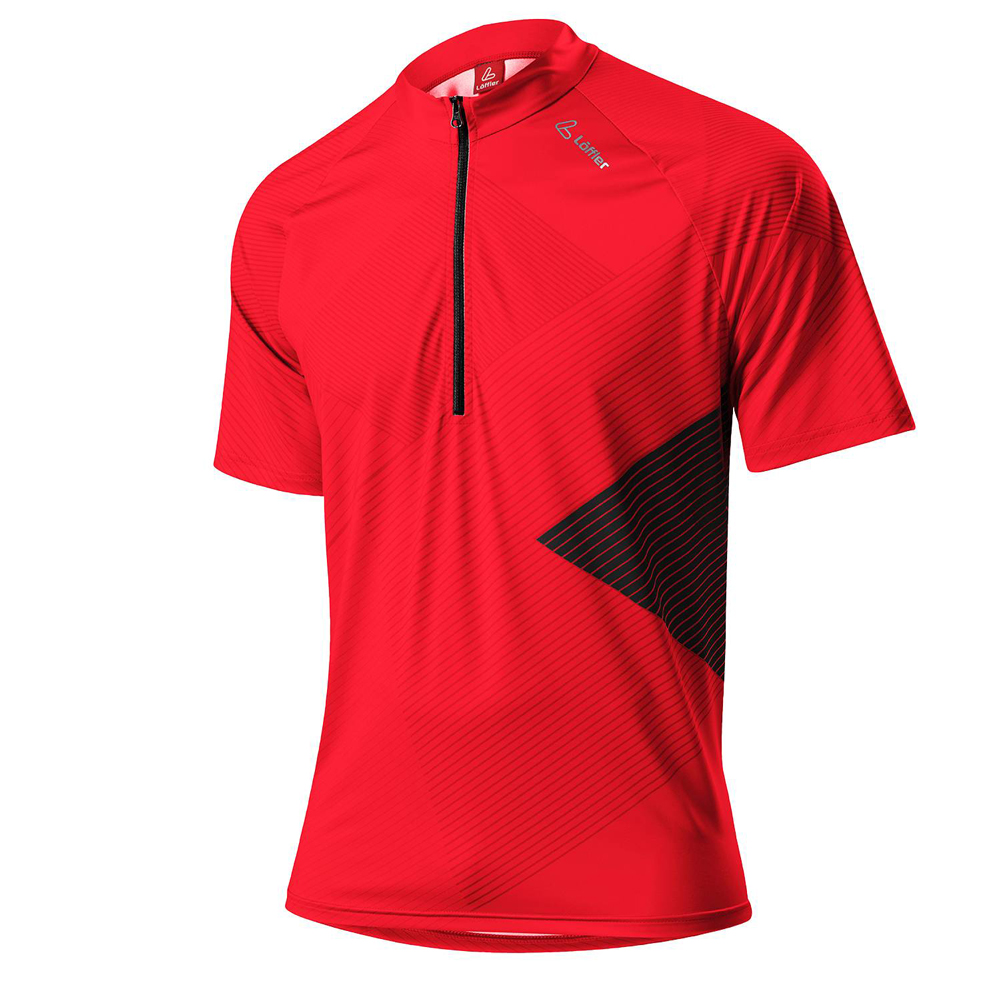 Herren BIKE SHIRT MONACO HZ, rot, 50