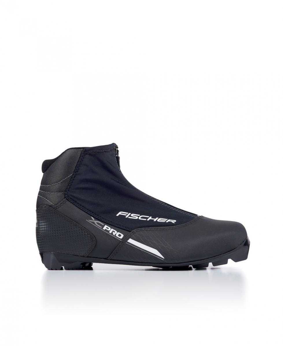 XC Pro Silver Langlauf Schuhe Schwarz