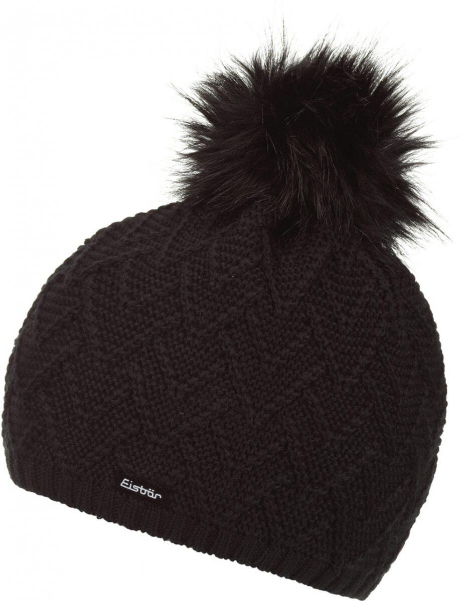 Mütze Isabella Lux MÜ schwarz schwarz Damen