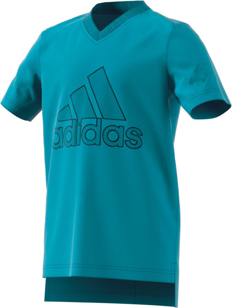 Herren Shirt ID Logo T-Shirt, LABGRN, 128