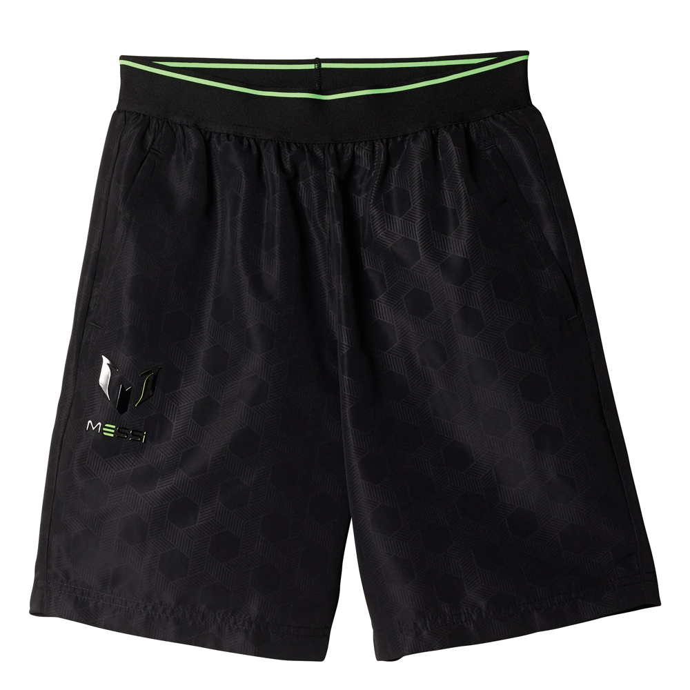 Herren Sporthose Messi Swat Short, BLACK/COPPMT, 128