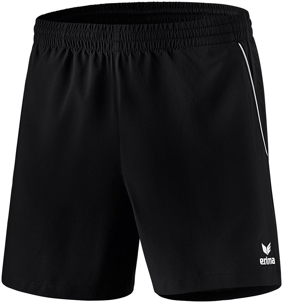 Herren Tischtennis Short, black/white, M