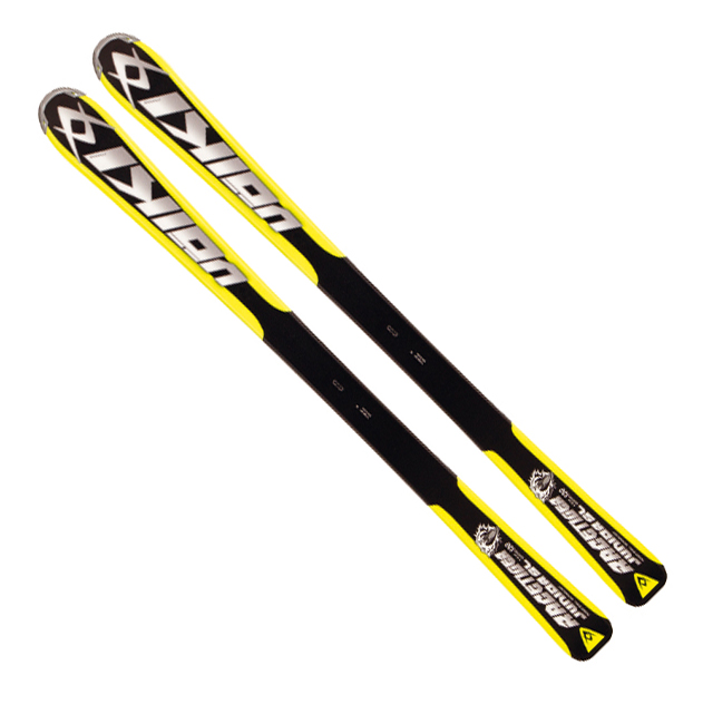 Kinder Alpinski Junior Racetiger Motion Yellow + 3Motion JR R 4.5