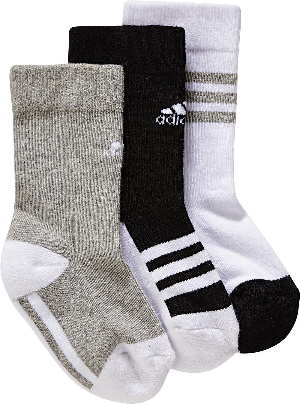 Kinder Socken LITTLE KIDS PLAIN CREW SOCKS 3PP