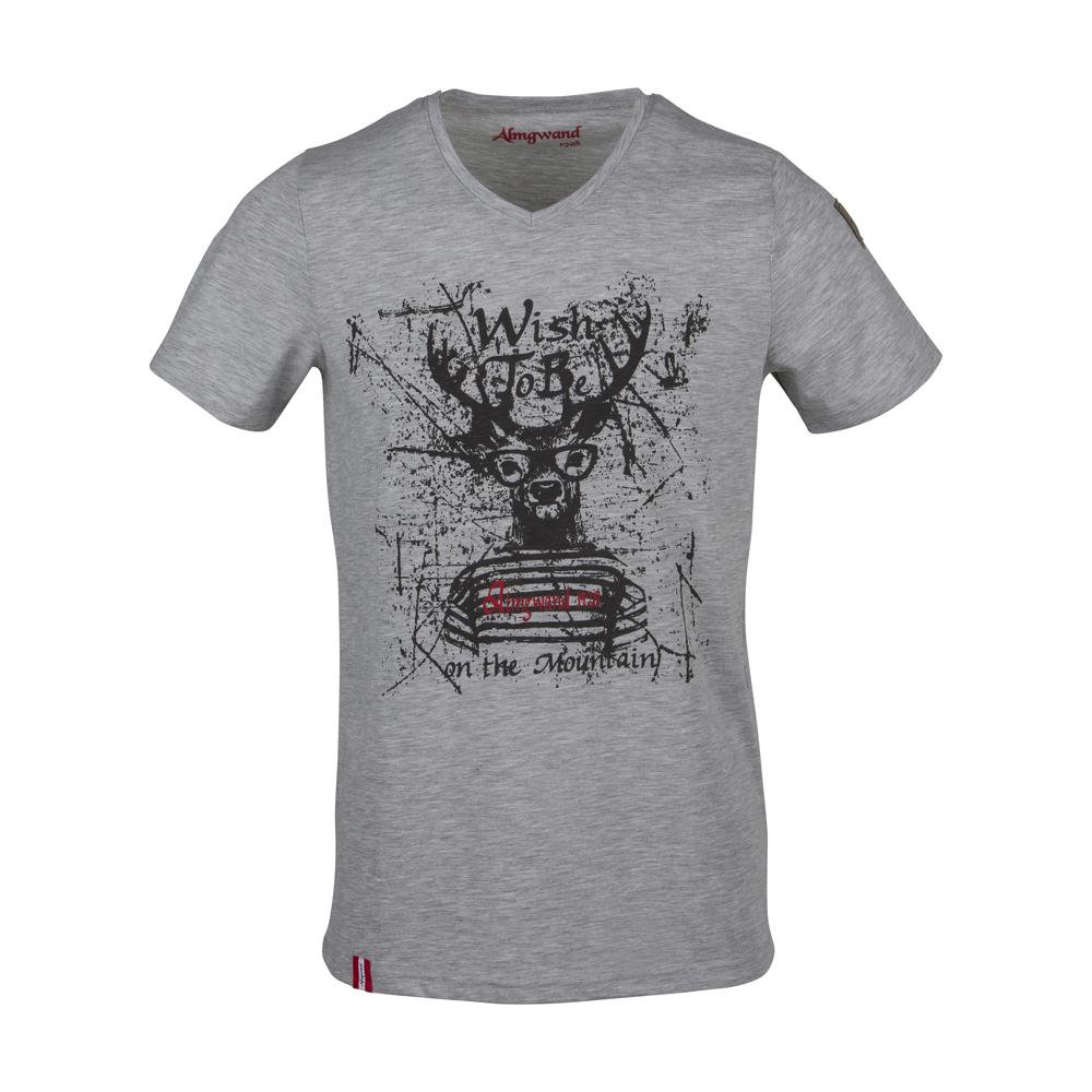 Herren Shirt Steinplatte