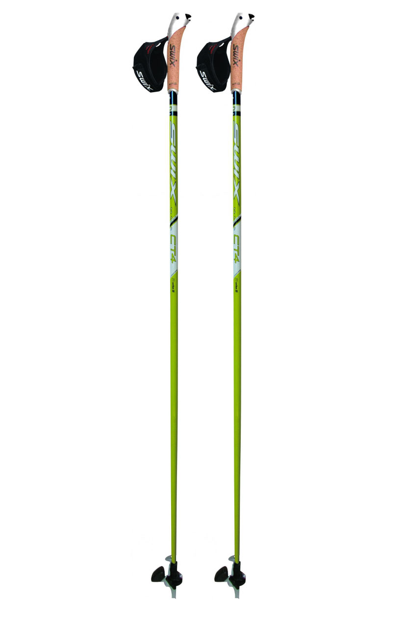 Nordic Walking Stock CT 4 Lime Composite Premium