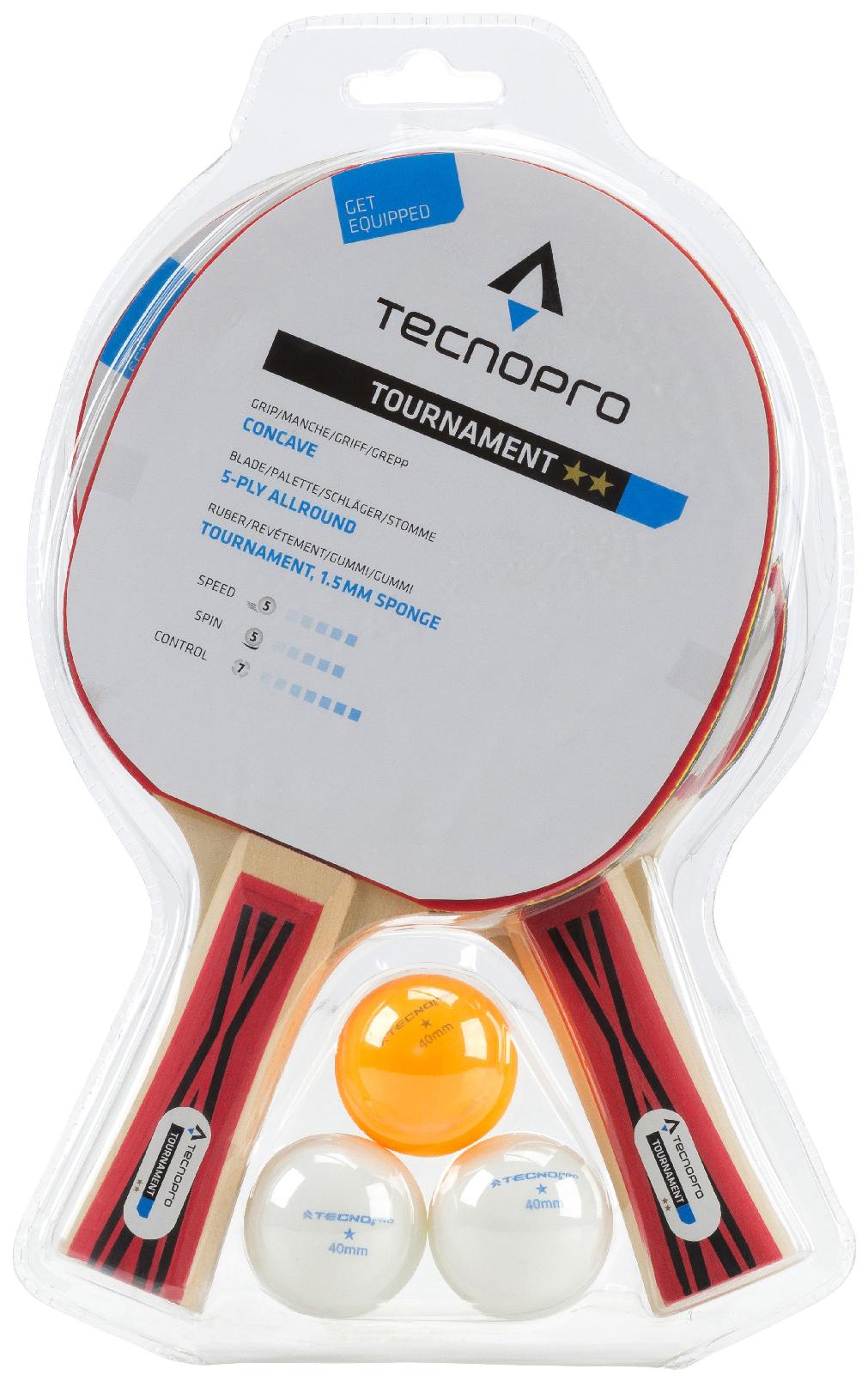 Unisex Tischtennis Schlägerset Tournament DX