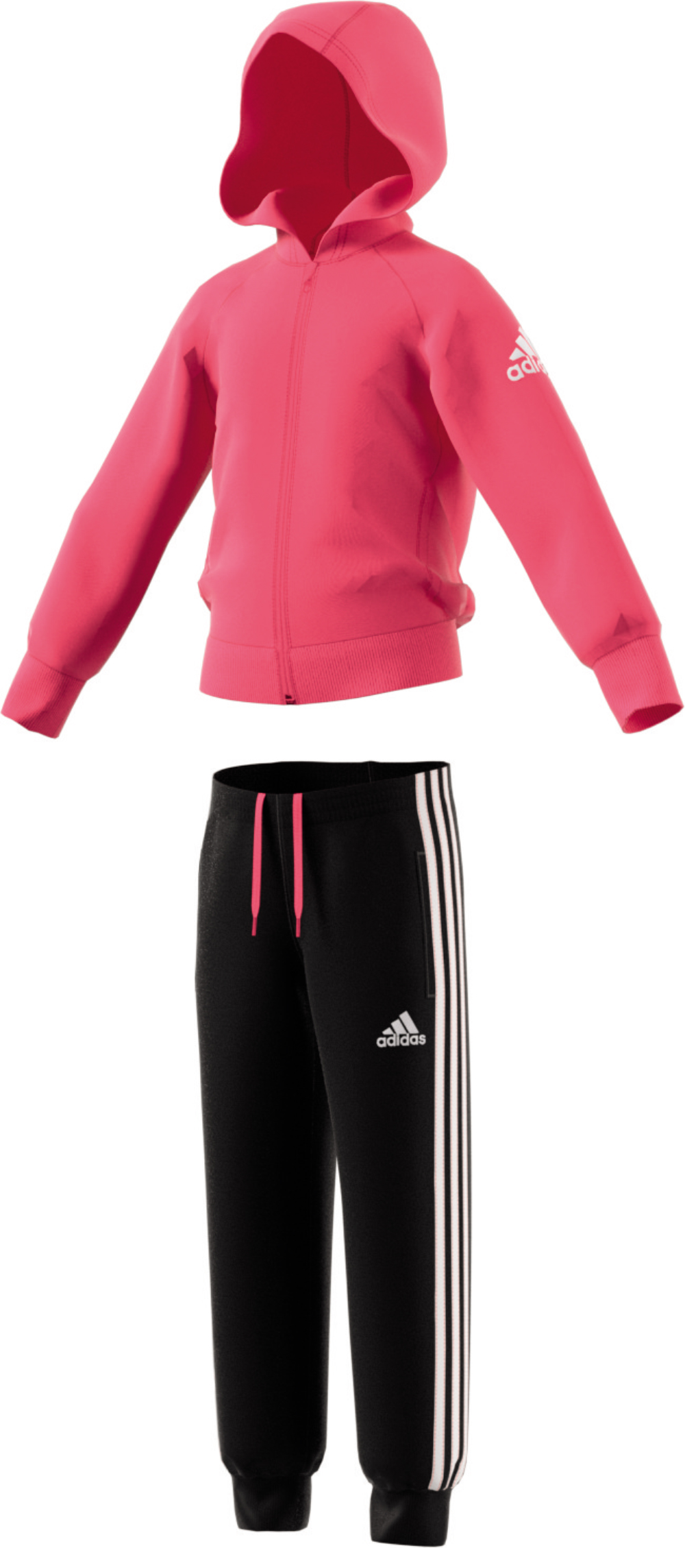 Kinder Trainingsanzug LITTLE GIRLS KNITTED TRACKSUIT