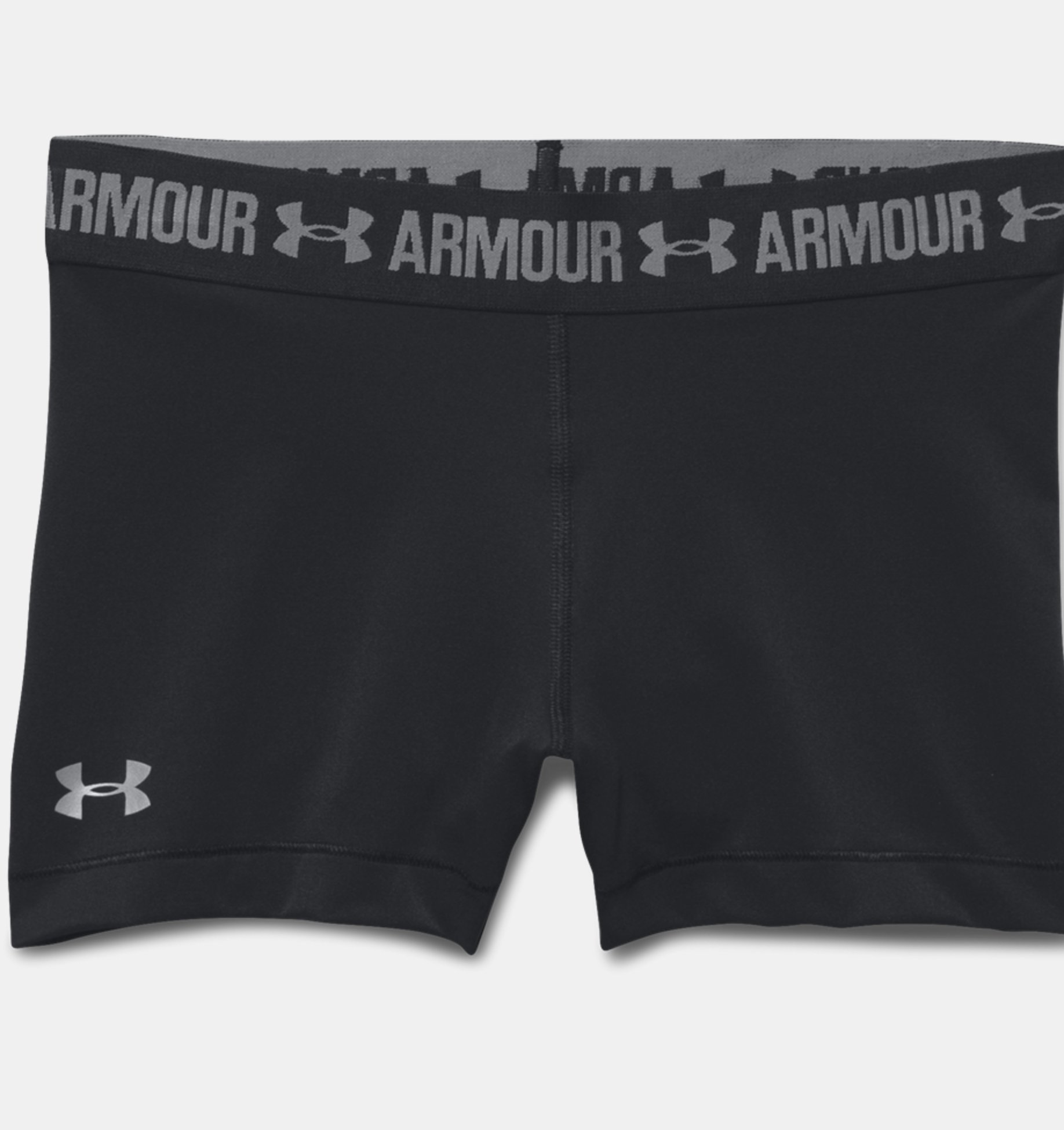 Damen Shorty UA HeatGear Armour (7,5 cm)