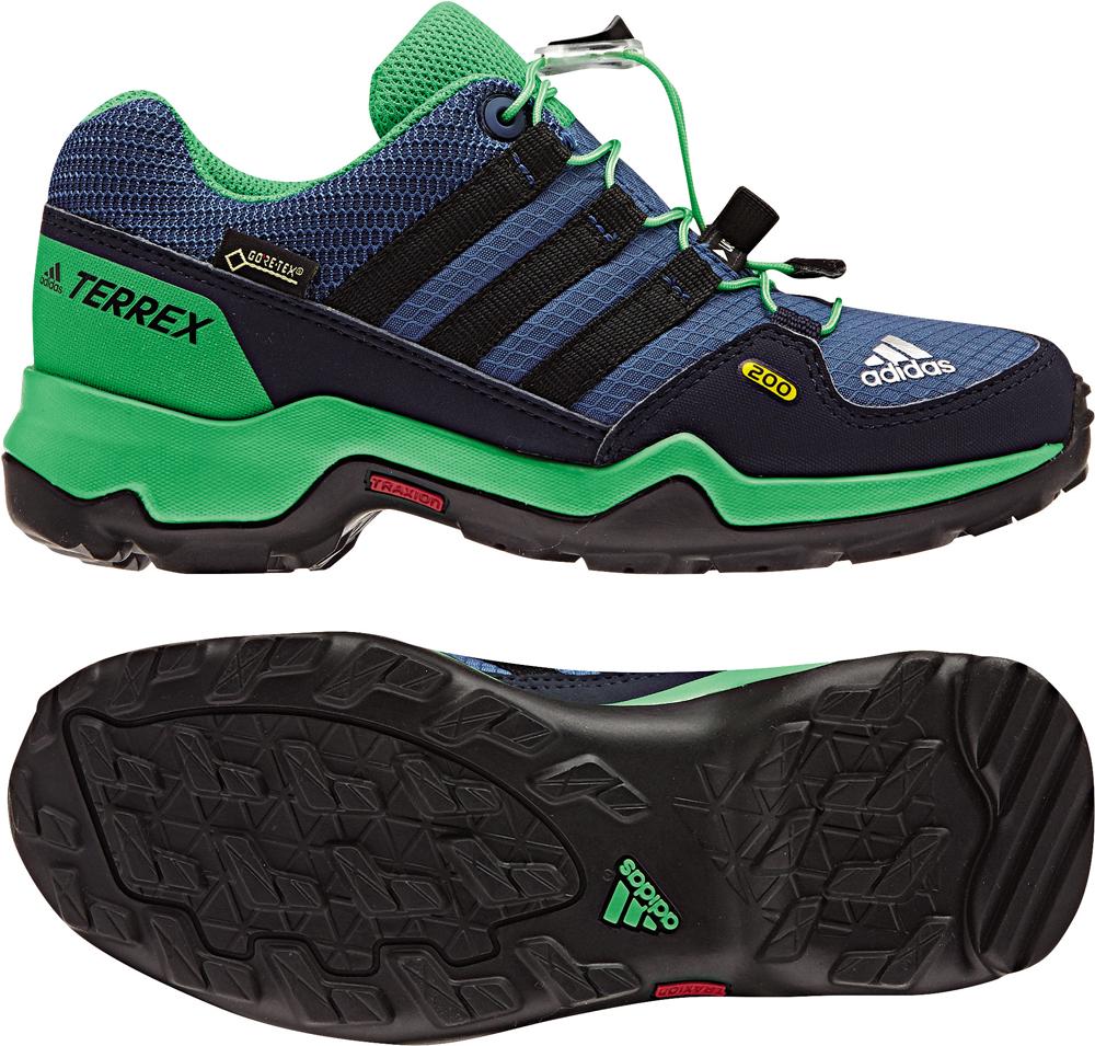 Kinder Schuhe TERREX GTX K, CORBLU/CBLACK/ENEGRN, 33.5
