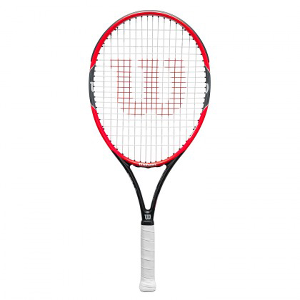 Kinder Tennisschläger Federer Pro Staff 25 jr, RED/GREY, 25