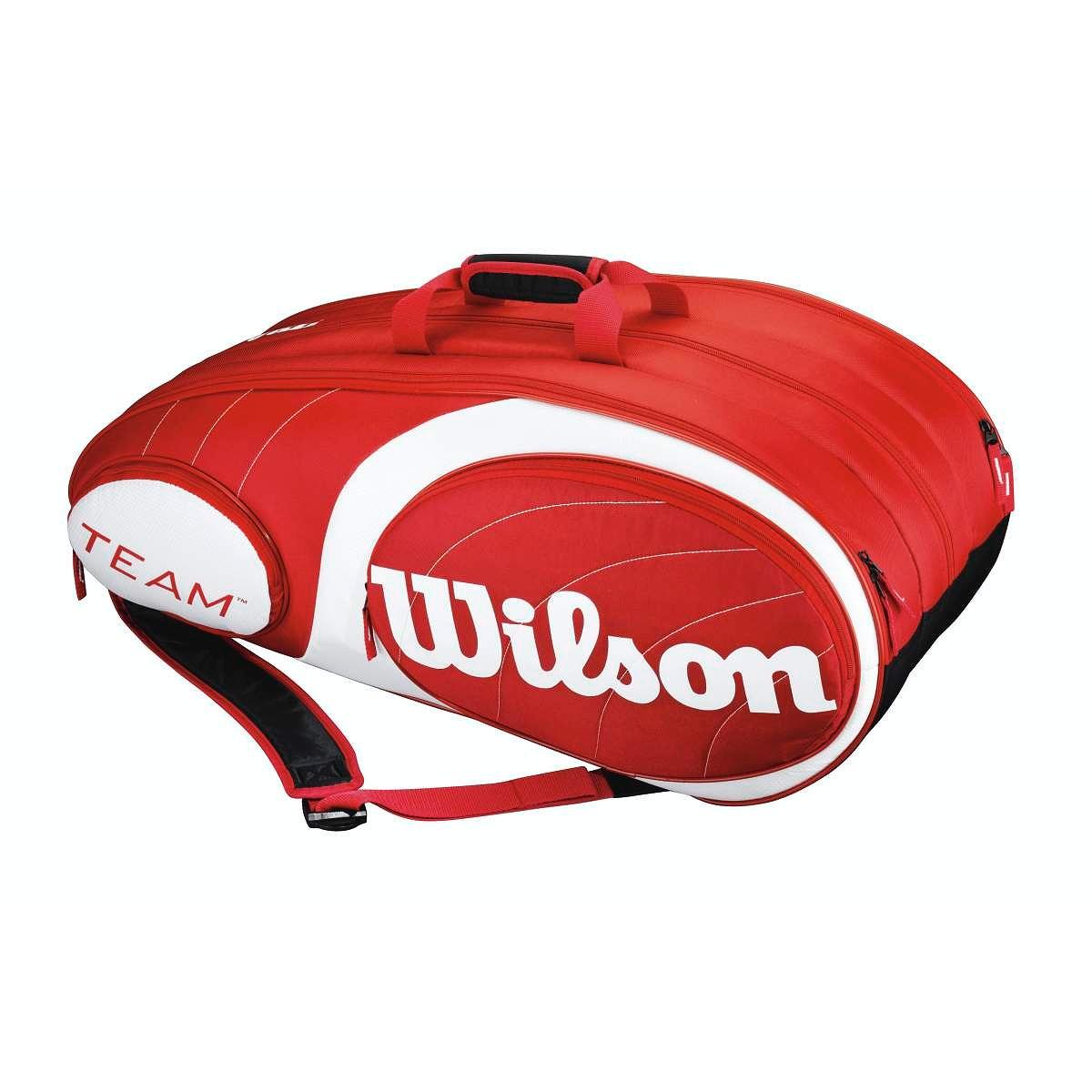 Unisex Tennistasche Team Red 12 Pack