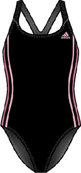 Damen Badeanzug Inf 3SA Suit, blackdd/BONT, 42