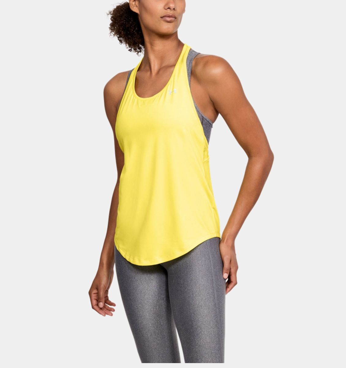 Damen Tanktop HeatGear Armour Mesh Back
